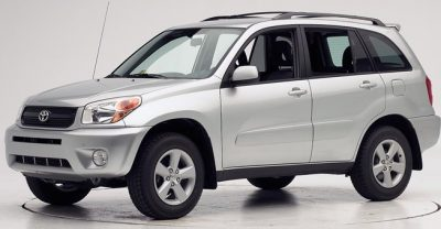 Toyota RAV 4 car for rent on Providenciales at Scooter Bobs