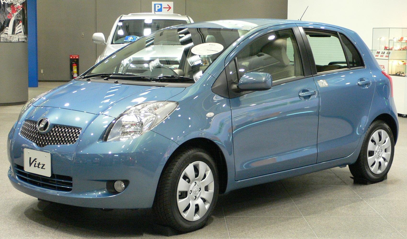TOYOTA VITZ - BLUE