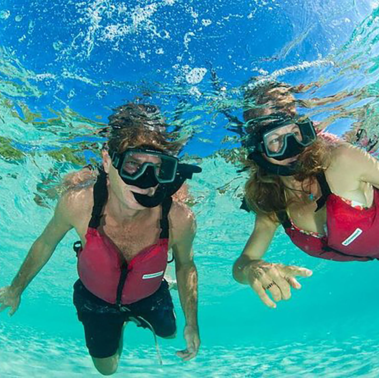 rent snorkel equipment on Providenciales at Scooter Bob's